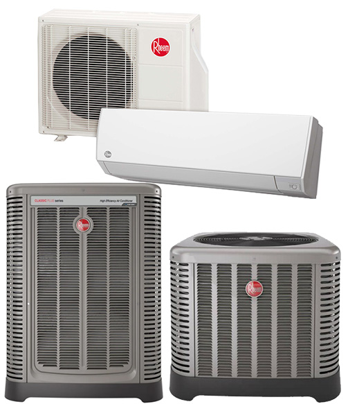 rheem air conditioners and mini-splits system